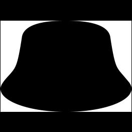 263x262 Bucket Sun Hat Silhouette Free Svg Cameo Silhouette