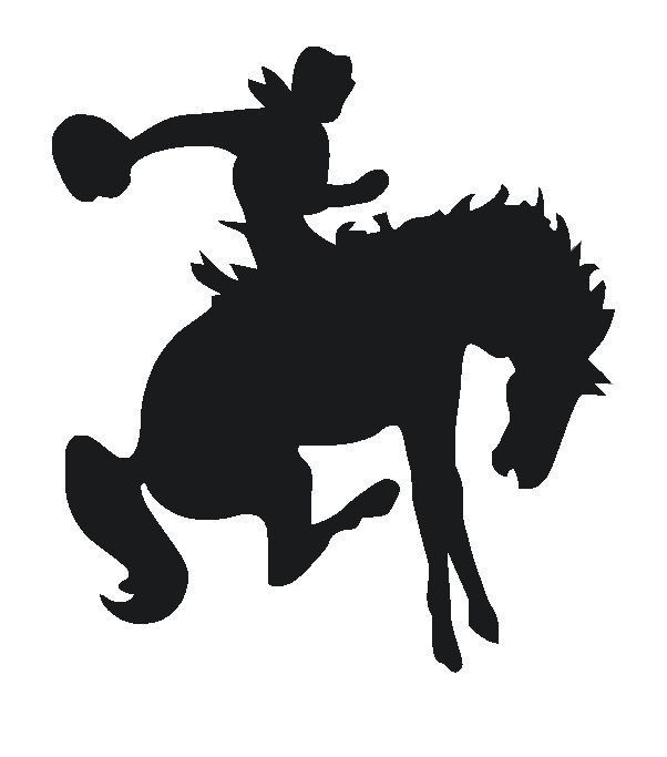602x683 Large Bucking Horse Stencil 18 X 20 Large Wall Decorations