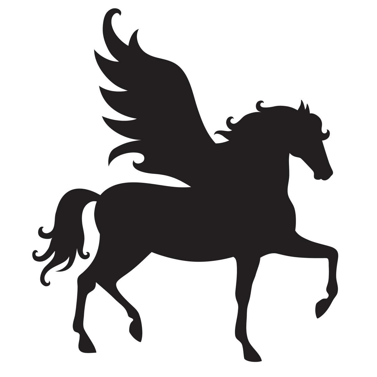 1200x1200 Pegasus Stencil