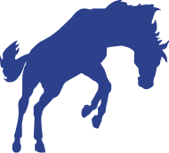 190x172 Bucking Horse Silhouette By Cvance35 Spreadshirt