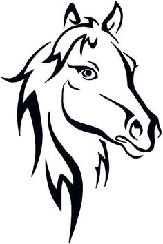 236x354 Image Of An Horse On White Background Horse