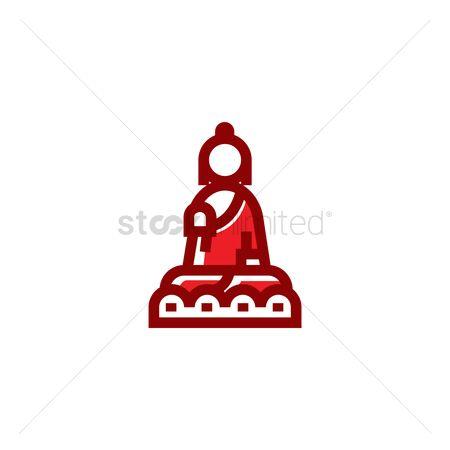 450x450 Free Tian Tan Buddha Stock Vectors Stockunlimited