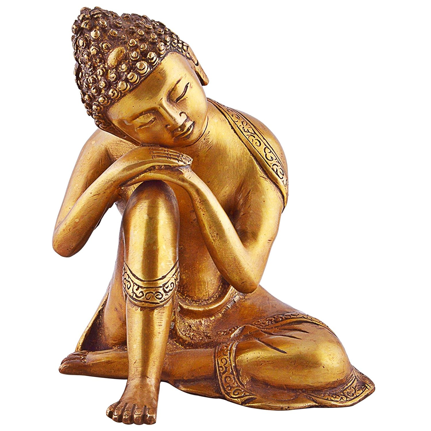 1500x1500 Handcarved Resting Buddha Statues Metal, Brass, Bronze, Resin