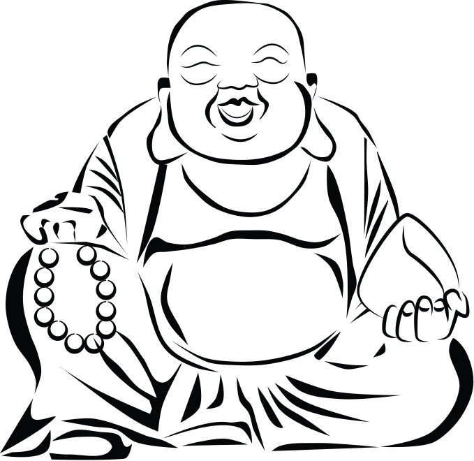 679x660 Buddha Clipart Chinese Buddha