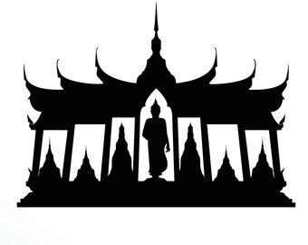 340x270 Buddha Silhouette Etsy