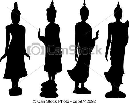 450x363 Buddha Clipart