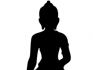 310x233 Buddha Silhouette Vector Free Vectors Ui Download