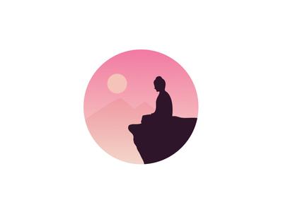 400x300 Buddha Silhouette By Muhammad Ali Effendy