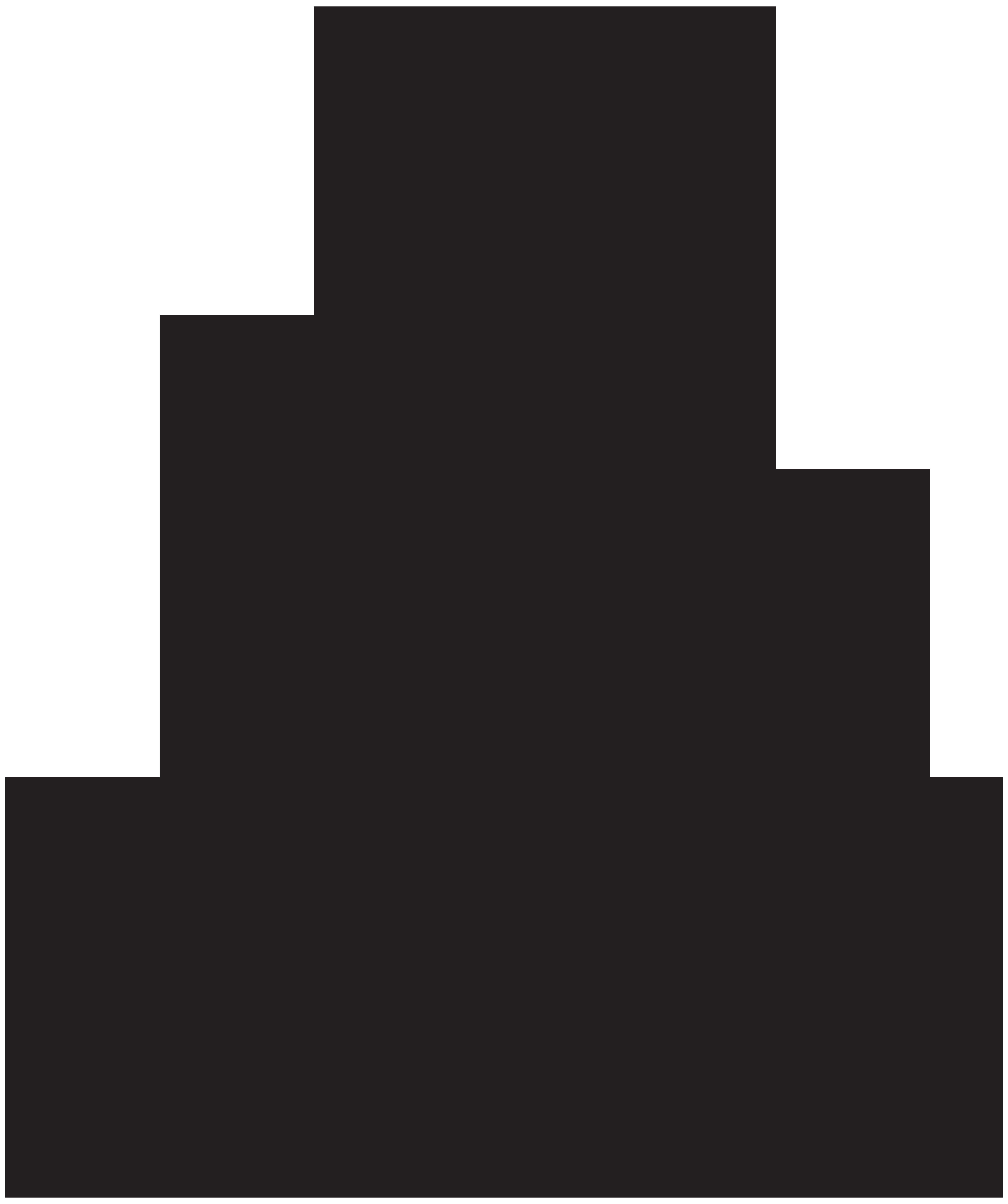 6696x8000 Free Meditating Buddha Silhouette Clipart