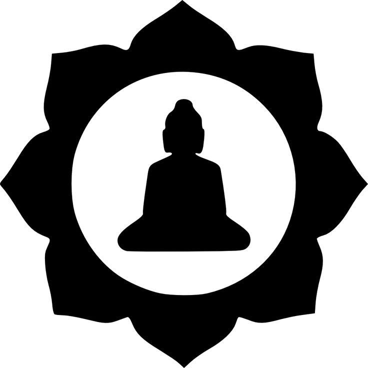 Buddha Silhouette Tattoo