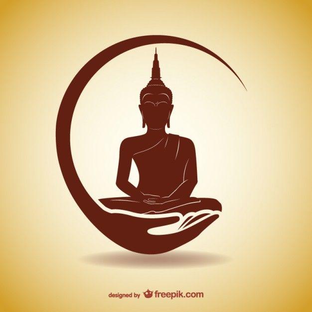 626x626 Silhouette Thai Buddha, Tatoo And Tattoo