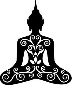 235x278 Buddha Silhouette Vector Buddha, Silhouettes And Stenciling