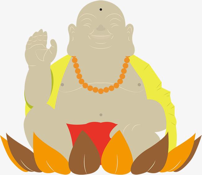 650x562 Golden Lotus Buddha Vector, Smiling Face, Buddha Beads, Buddha