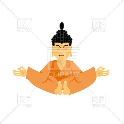 400x400 Buddha In Lotus Pose