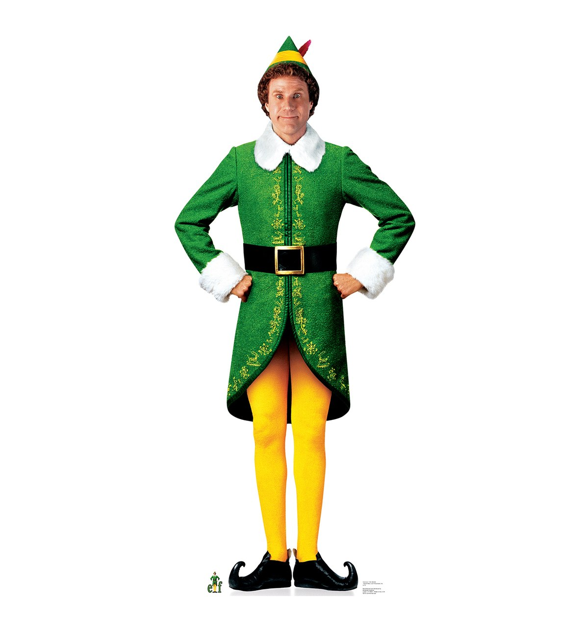 1199x1280 Life Size Buddy The Elf