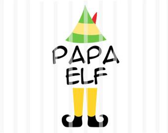340x270 Papa Elf Svg Etsy