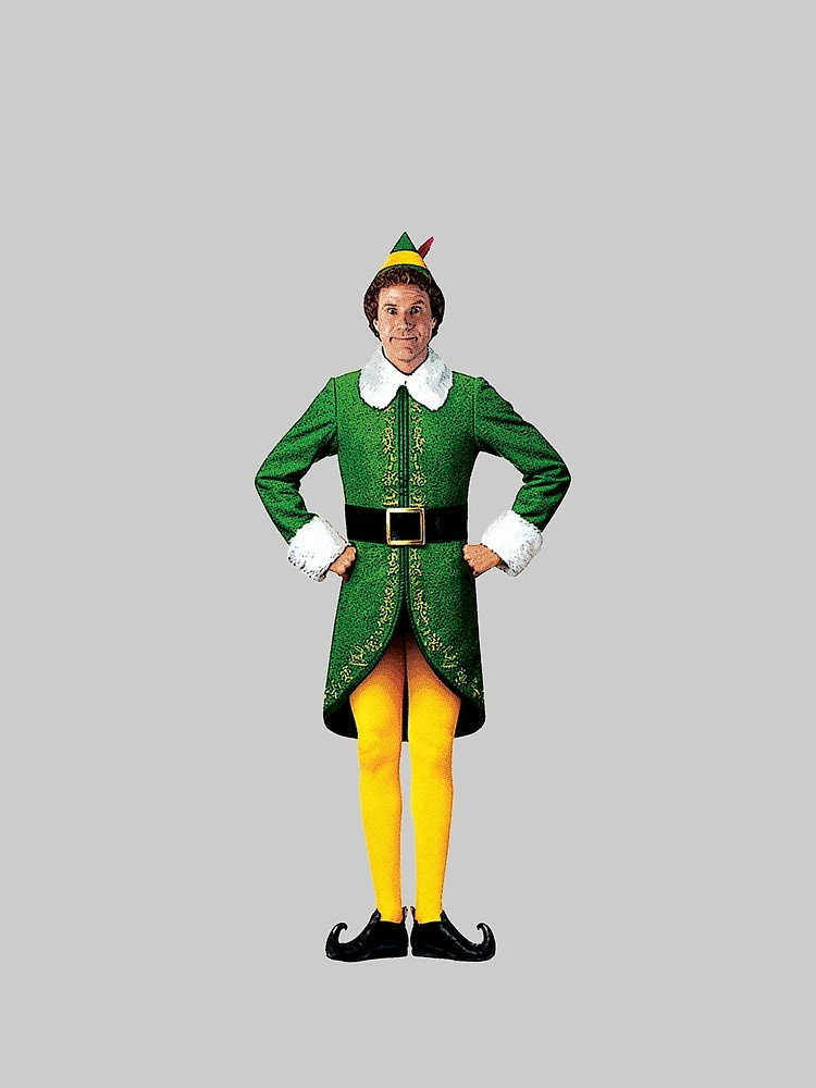 750x1000 Buddy The Elf, Christmas Movie, Arms Akimbo Will Ferrell Graphic
