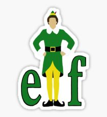210x230 Buddy The Elf Stickers Redbubble