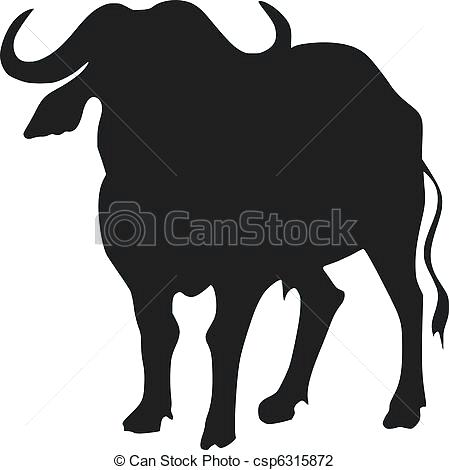 449x470 Buffalo Illustrations And Clip Art Buffalo Royalty Free Silhouette