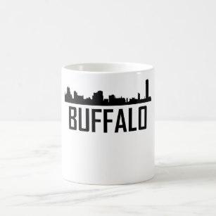 307x307 New York City Skyline Silhouette Coffee Amp Travel Mugs Zazzle