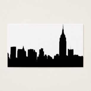 307x307 New York City Skyline Silhouette Office Products Amp Supplies Zazzle