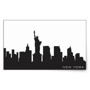 307x307 Skyline Stickers Zazzle