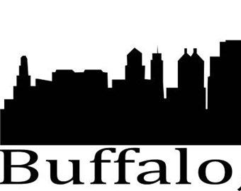 340x270 White Buffalo Decal Etsy