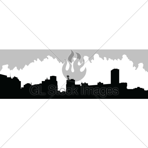 500x500 Buffalo City Skyline Gl Stock Images