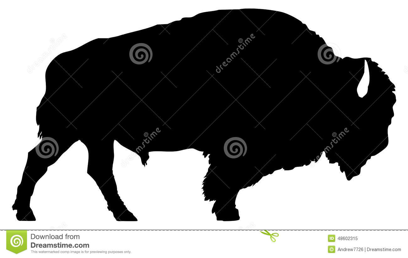 buffalo silhouette clip art at getdrawings com free for personal rh getdrawings com bison clip art black and white bichon clipart
