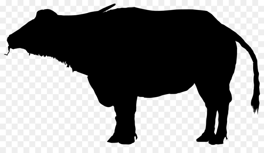 900x520 Water Buffalo Silhouette Clip Art