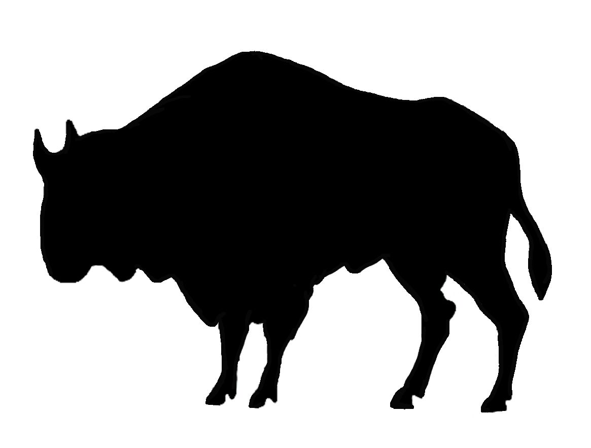 buffalo silhouette clip art at getdrawings com free for personal rh getdrawings com bison clipart png american bison clipart