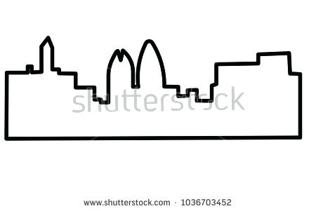 450x301 5 Buffalo Vector Silhouettes Free Vector Art At Buffalo Outline