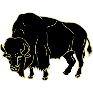 300x300 Buffalo Clipart, Cliparts Of Buffalo Free Download (Wmf, Eps, Emf
