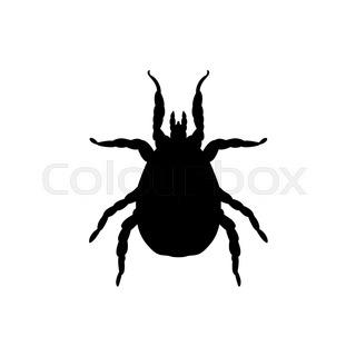 320x320 Encephalitis Tick. Mite Skin Dust Parasite Vector Icon