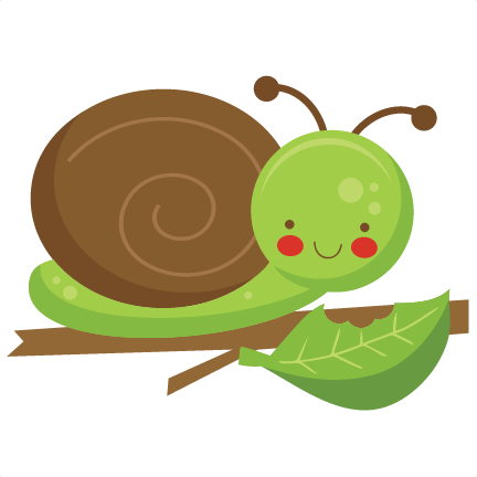 432x432 Snail Clipart Silhouette