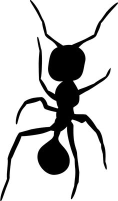 236x402 Ant Silhouette Vector Graphics Download Ant, Vector Graphics