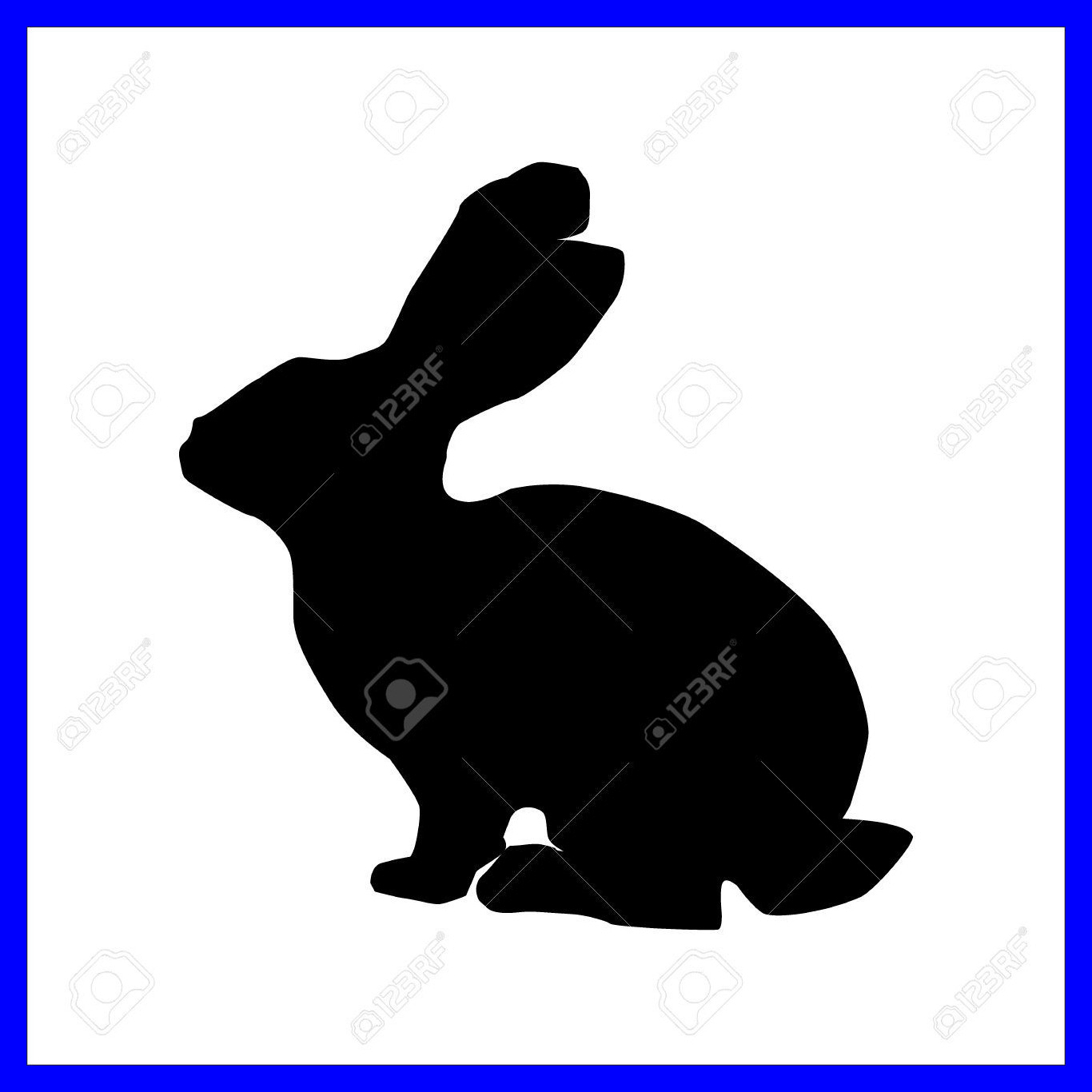 1366x1366 Awesome Easter Bunny Pic For Cartoon Of Rabbit Popular And Styles