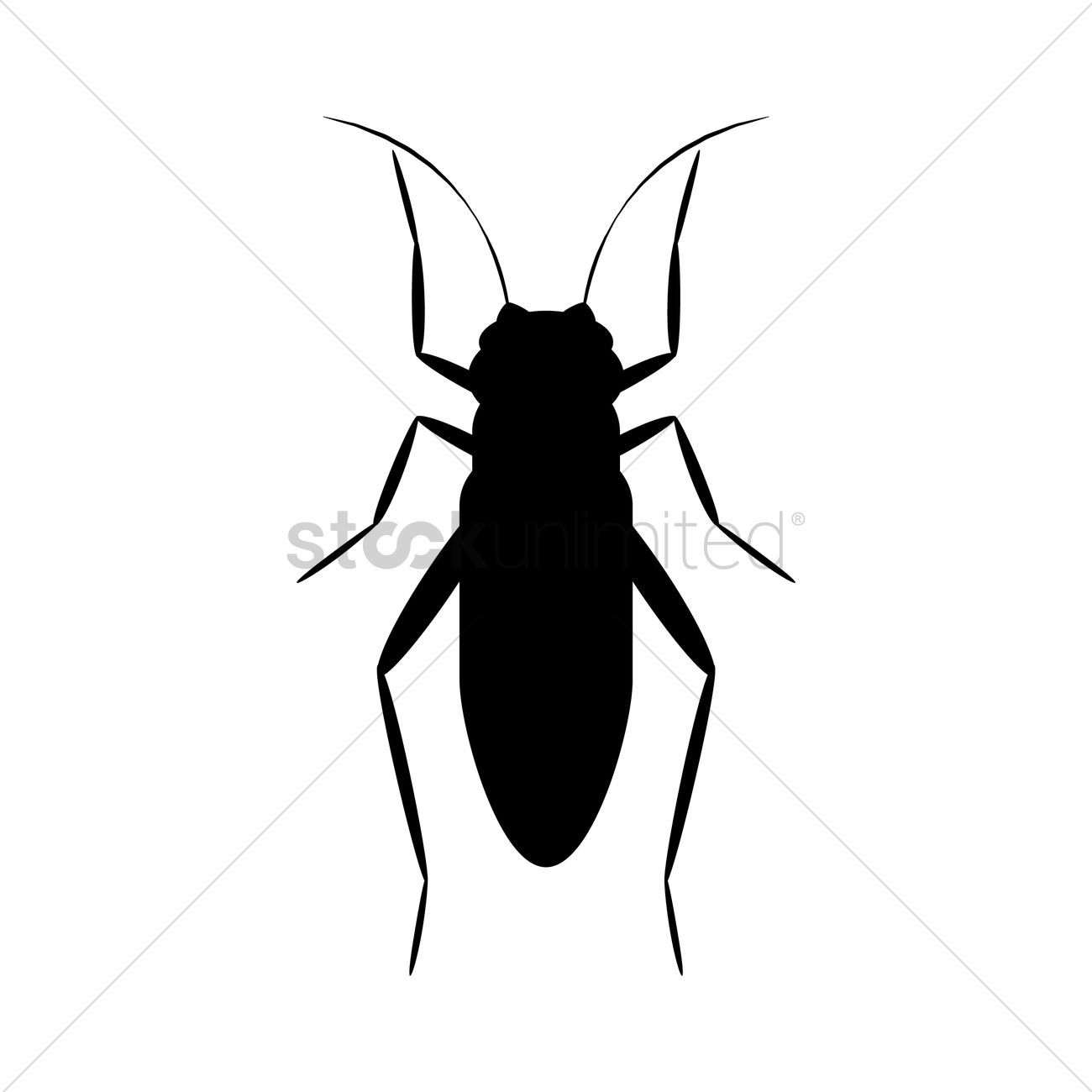 1300x1300 Cricket Silhouette Vector Image
