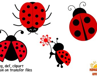 340x270 Lady Bug Clipart Etsy