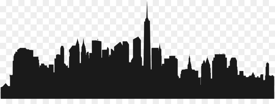 900x340 Cities Skylines New York City Wall Decal Clip Art