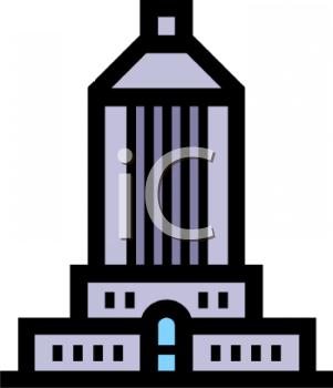 301x350 Office Building Silhouette Clip Art Cliparts