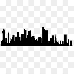 260x261 Building Silhouette Png Images Vectors And Psd Files Free