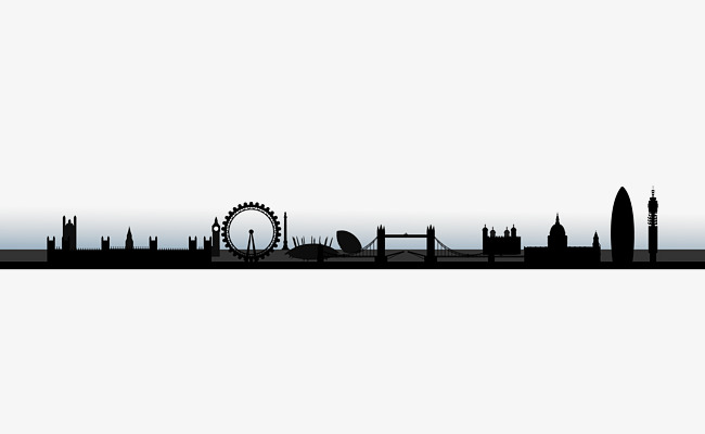 650x400 City Building Silhouette, City, Building, Building Png And Vector