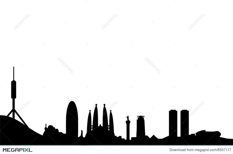 Building Skyline Silhouette