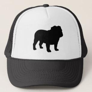 307x307 English Bulldog Silhouette Hats Zazzle