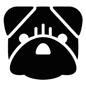 283x283 Bulldog Head Silhouette Silhouette Of Bulldog Head