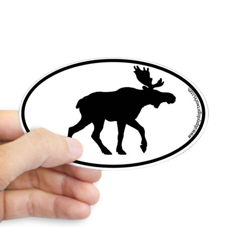 460x460 Moose Silhouette Gifts