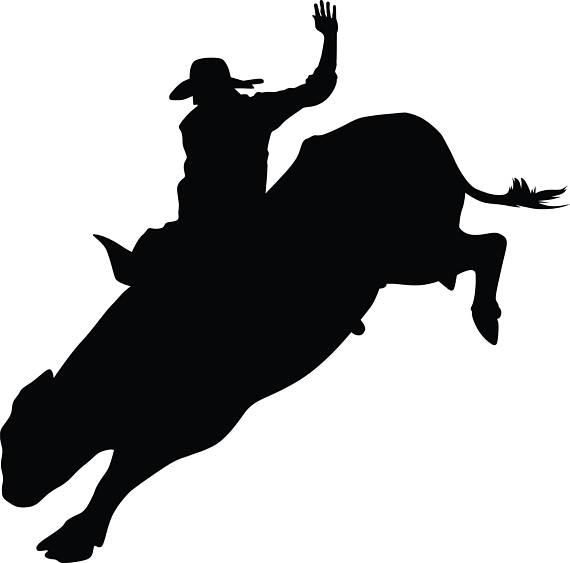 570x563 Bull Svgpngjpgepsull Rider Svgull Clipart