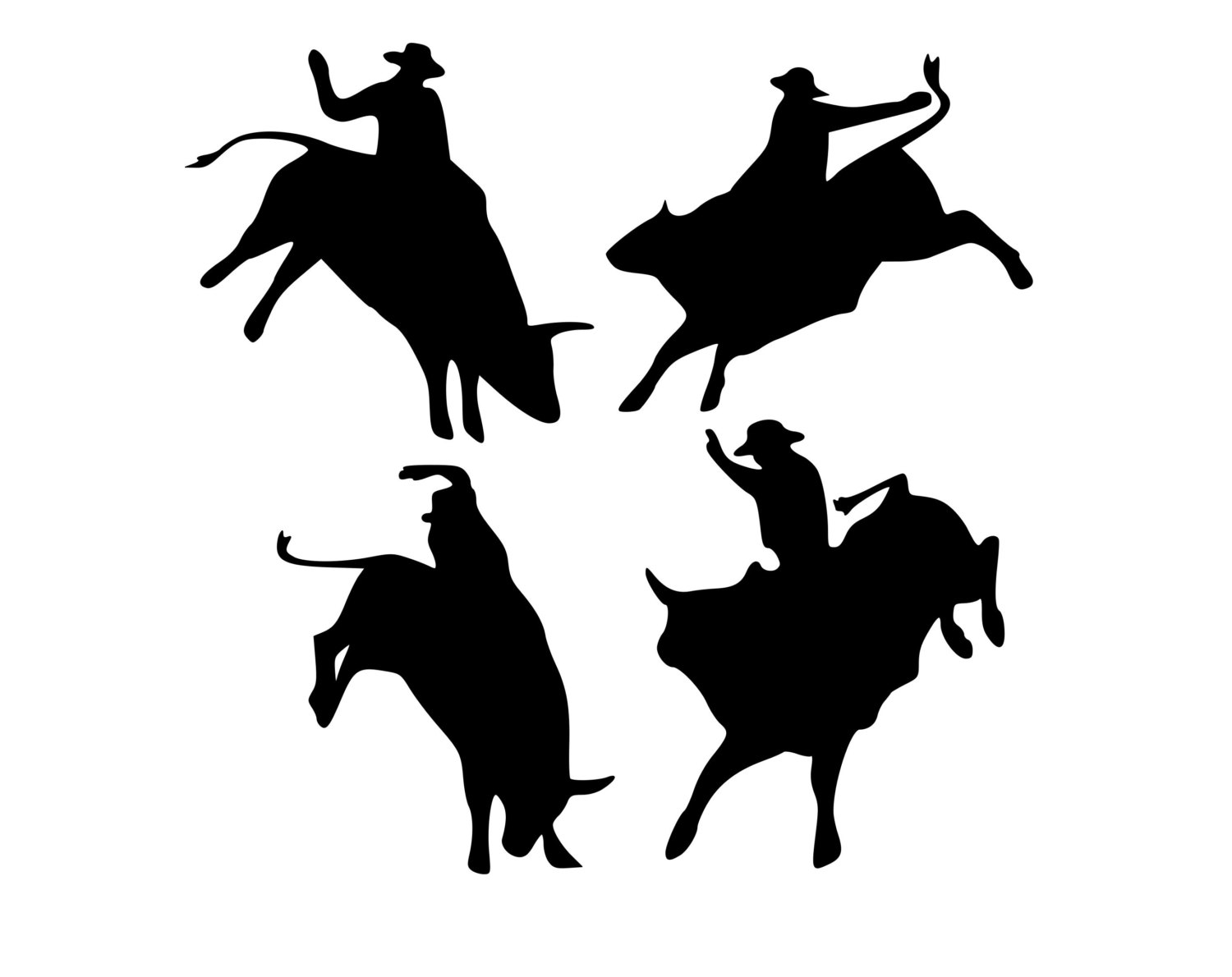 1500x1190 Party Favors Bull Riding Cowboy Party Western Party Rodeo