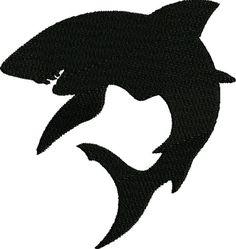 Bull Shark Silhouette